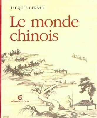 CDI : Le monde chinois - Jacques Gernet